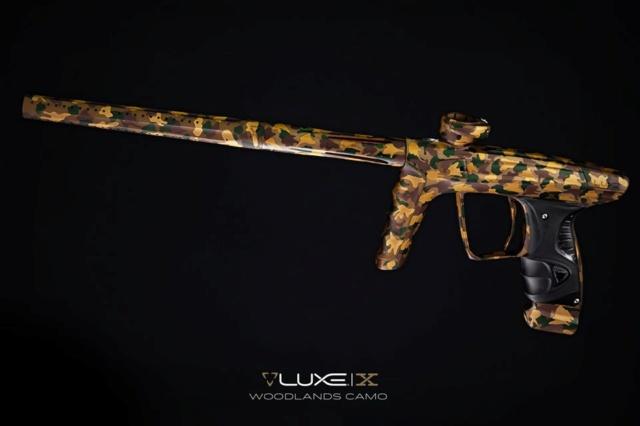 DLX Luxe X Woodland Camo Dlxlux41
