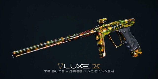 DLX Luxe X Tribute Green Acid Wash Dlxlux43