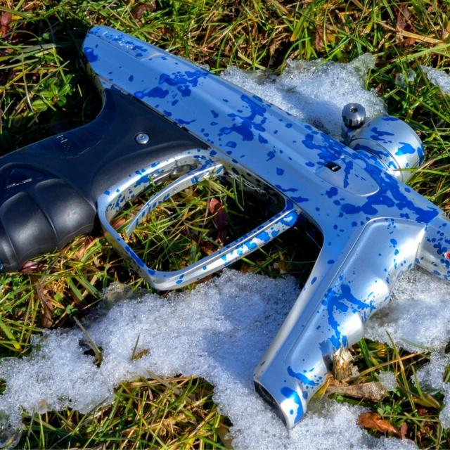 DLX Luxe X Blanc Splash Bleu Dlxlux48