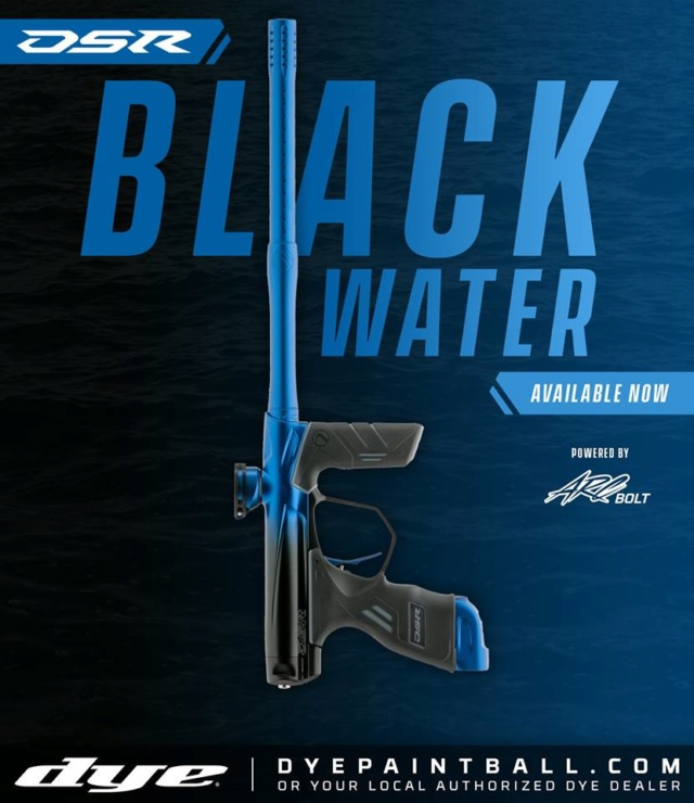 Dye DSR Black Water Dsrbla10