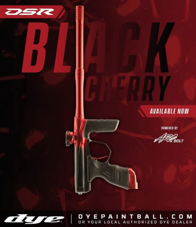 Dye DSR Black Cherry Dsrbla11