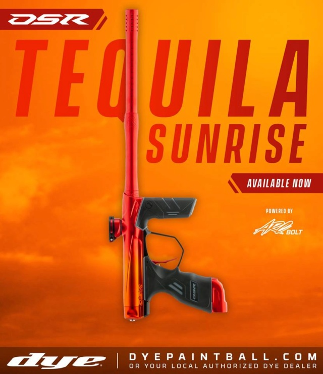 Dye DSR Tequila Sunrise Dsrteq10