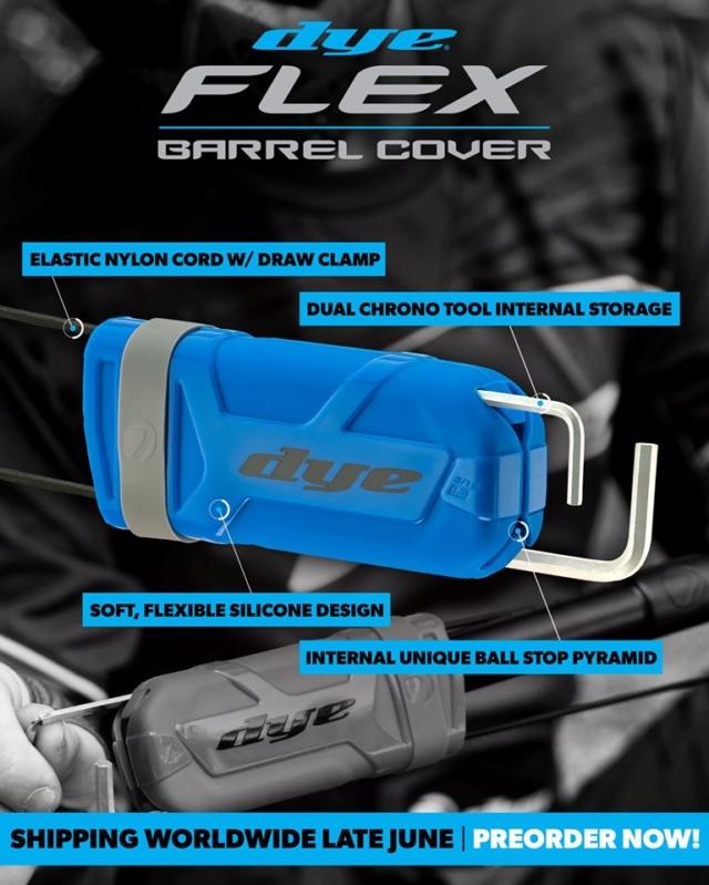 Dye Flex Barrel Cover Dyefle10