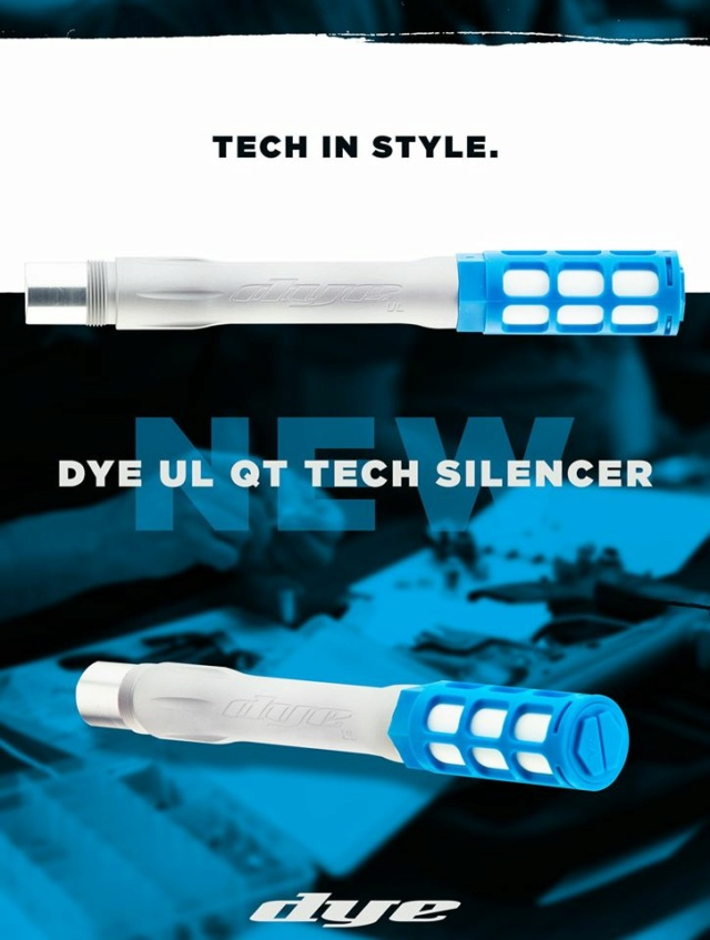 Dye UL QT tech Silencer Dyeqtu10