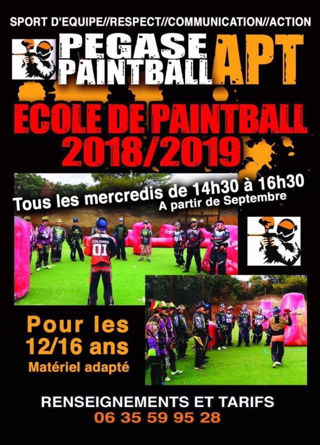 Ecole de Paintball (France / 84) Ecoled11