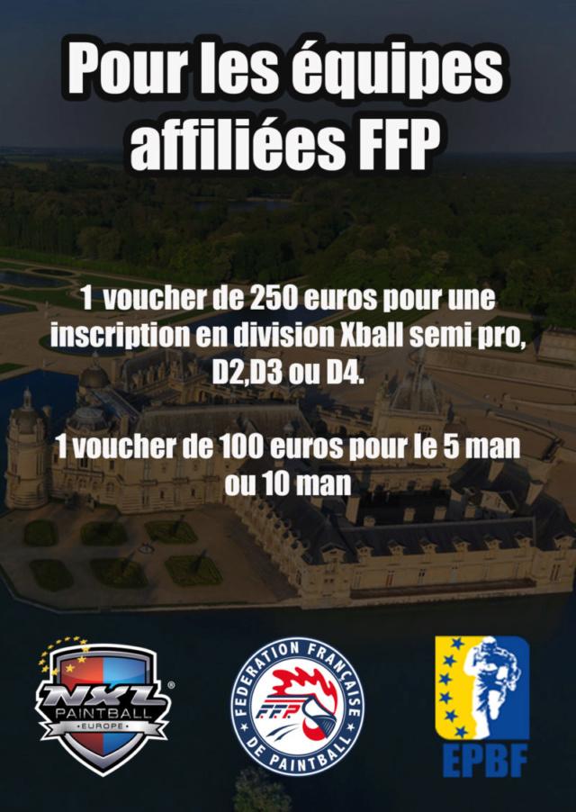 FFP / EPBF / NXL Europe: Coupons de réduction pour les équipes affiliées FFP  Ffpred10
