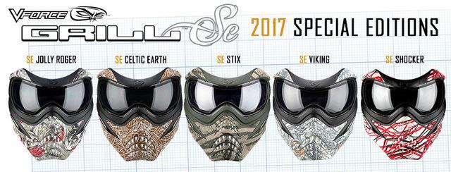 Choisir son masque pour la photo / Vidéo de Paintball Grills10