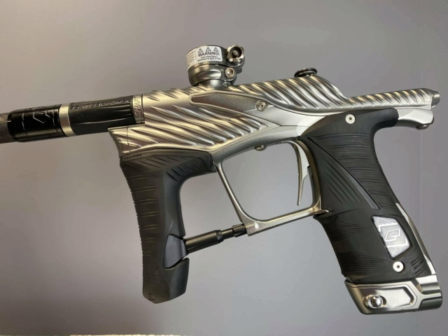 Commited Paintball: Planet Eclipse LV 1.6 Twstr SLR Graphite Lv16tw16