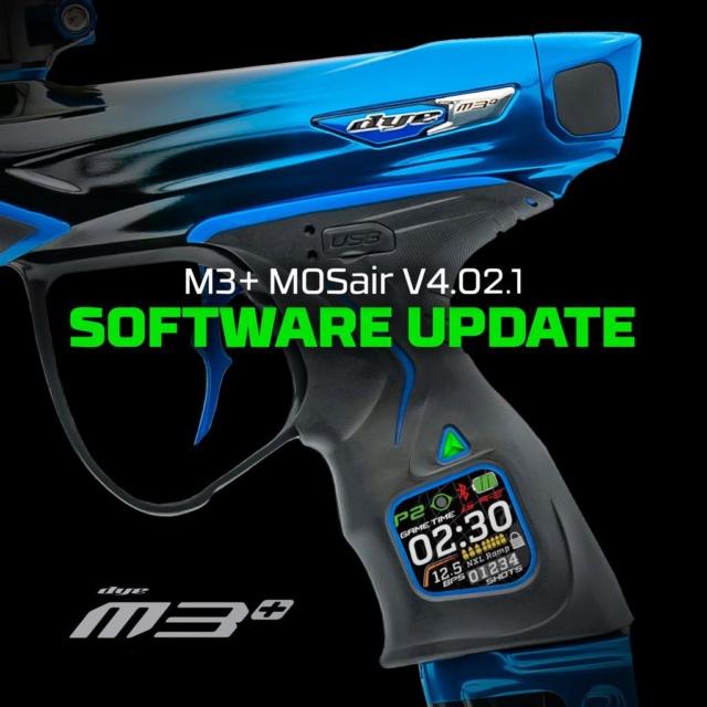 Dye M3+ / M3s: Micrologiciel Mise à jour v4.02.1 M3firm10