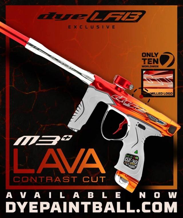 Dye M3+ Lava Contrast Cut M3lava10