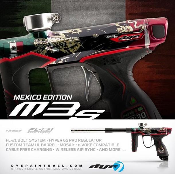 Dye M3S Mexico Edition Mesmex10