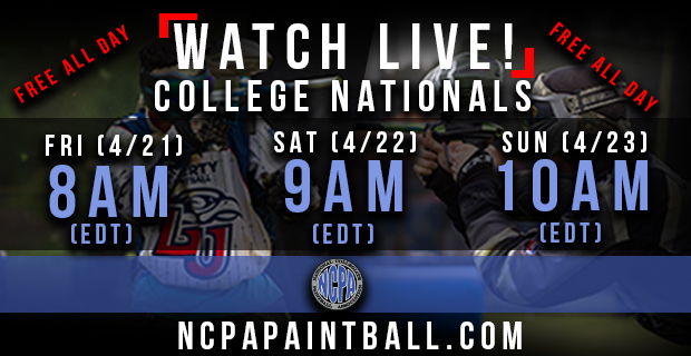 National College Paintball Live Ncpana10