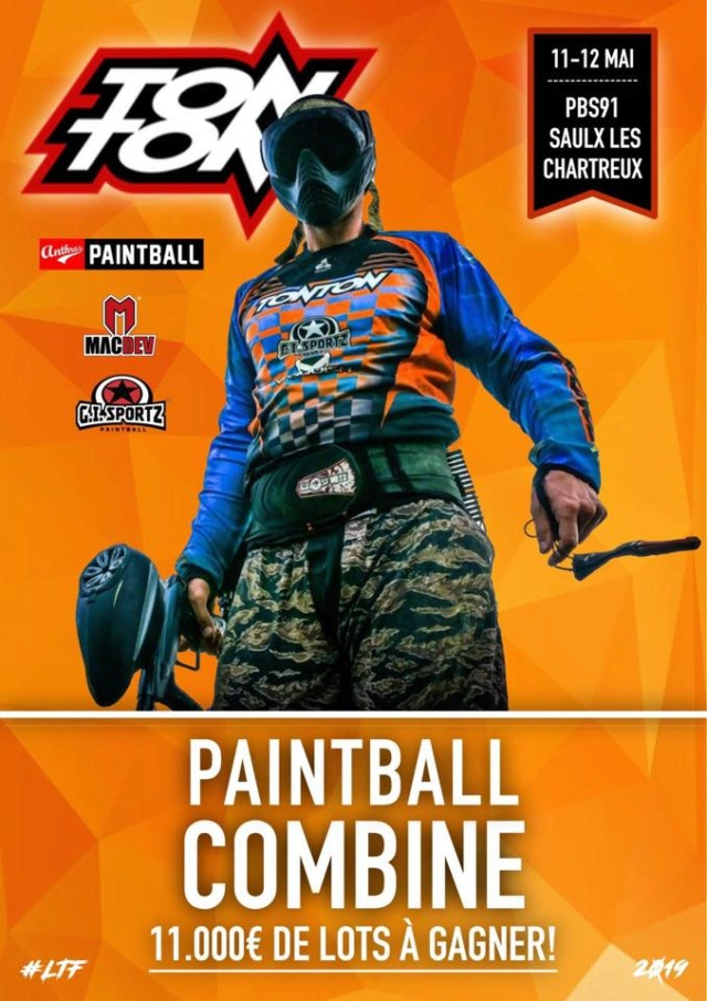 Paintball Combine France 2019 (France / 91) Paintb16