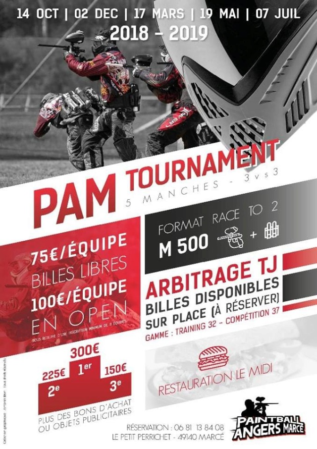 Paintball Angers Marcé (France / 49) Pam18110