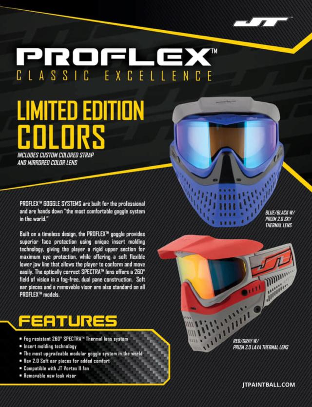 JT Proflex Limited Edition 2018 Profle13