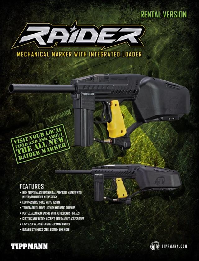 Tippmann Raider Rental Raider10