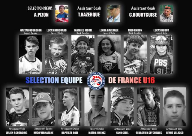EPBF: Equipe de France U16 2018 Roster13