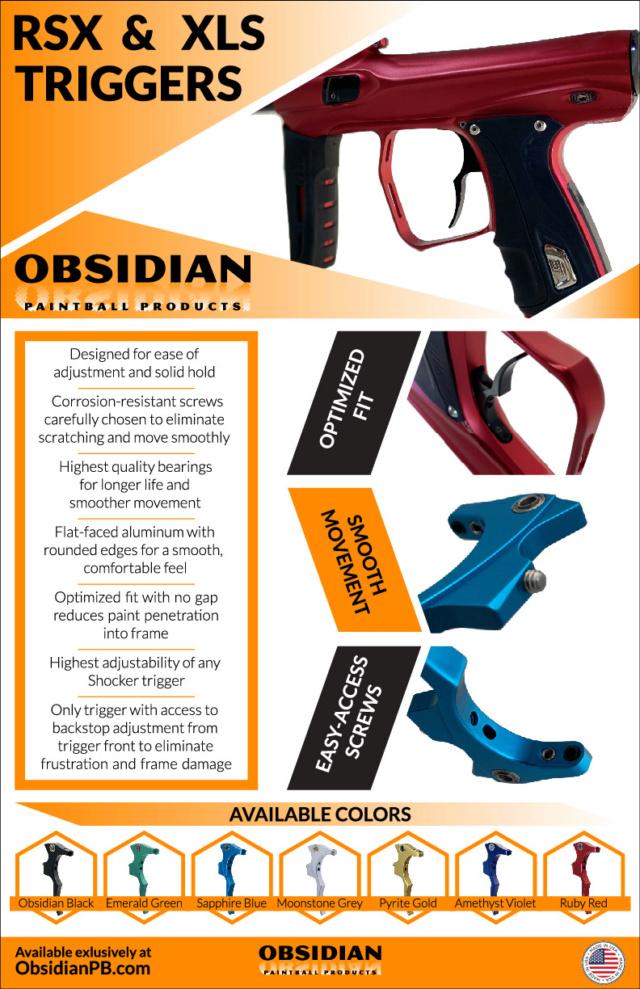 Obsidian Paintball Products: Détentes Shocker RSX / XLS Rsxdet10