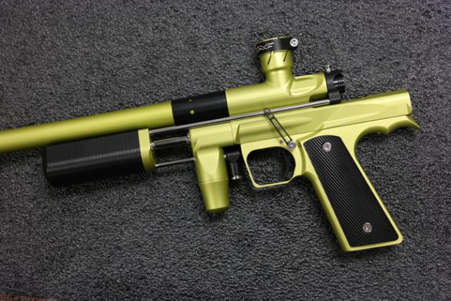 CCM S6.5 Tumbled Green / Black S65tum10
