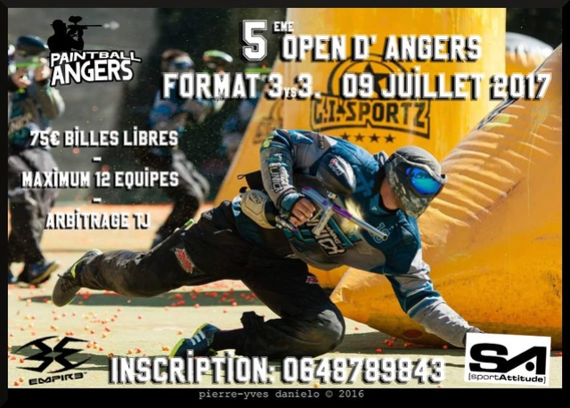 5ième Open d'Angers (France / 49) Tourno18