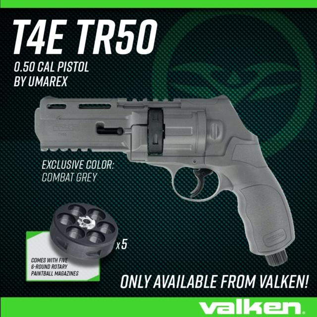 Umarex T4E TR50 Grey Efition Limitée Valken Umarex11