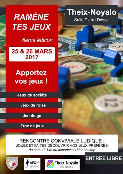 Ramène tes jeux - 6ème édition, 25-26 mars 2017 à Theix-Noyalo (56) Ramene10