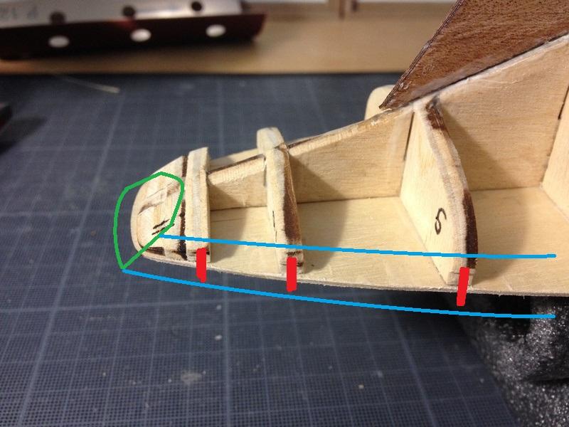 Mon 1er bateau bois: BLUENOSE 1/100° Img_2613