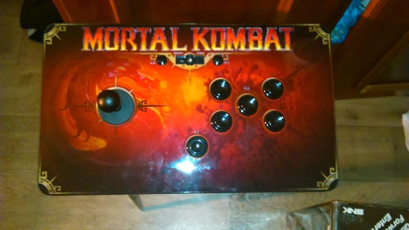 Stick Mortal Kombat Dsc_0410