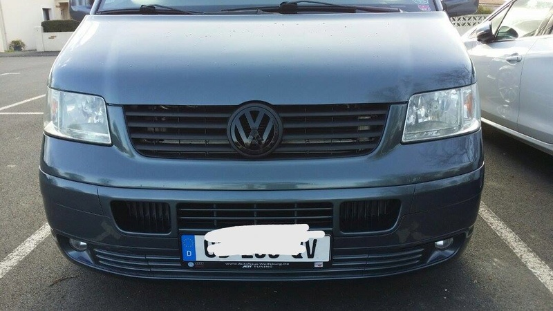 Element face avant VW T5.1  17036510