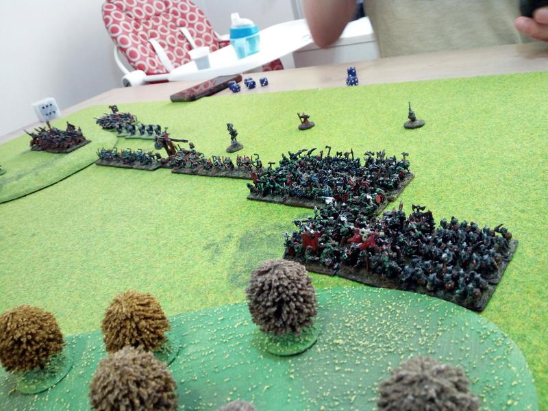 Chaos - Orcs&Goblin VS Dwarf - Bretonnian (2vs2) Img_2063