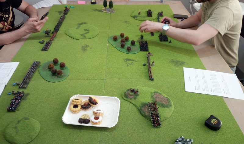 Chaos - Orcs&Goblin VS Dwarf - Bretonnian (2vs2) Img_2065