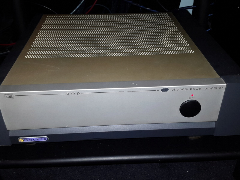 Proceed AMP 3 - (150 to 250 WPC) 3 Channel Power Amplifier by Madrigal Audio (Mark Levinson) Used 20170223