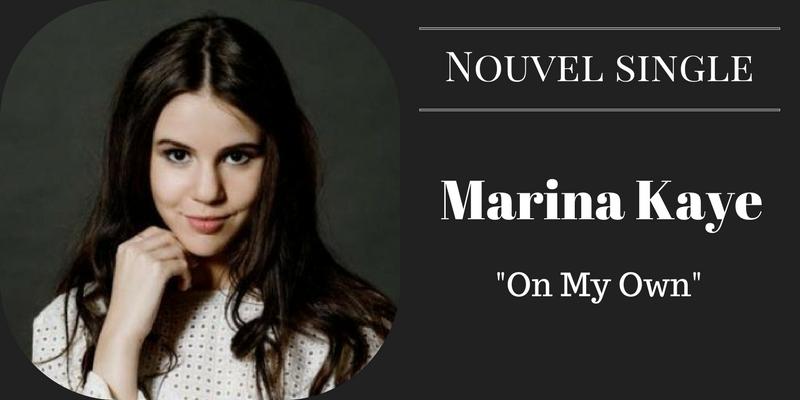 Nouvel single pour Marina Kaye