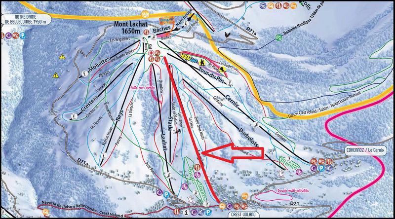 Télésiège à attaches débrayables 4 places (TSD4) de La Logère - Crest-Voland (Espace Diamant) Pdp_lo10