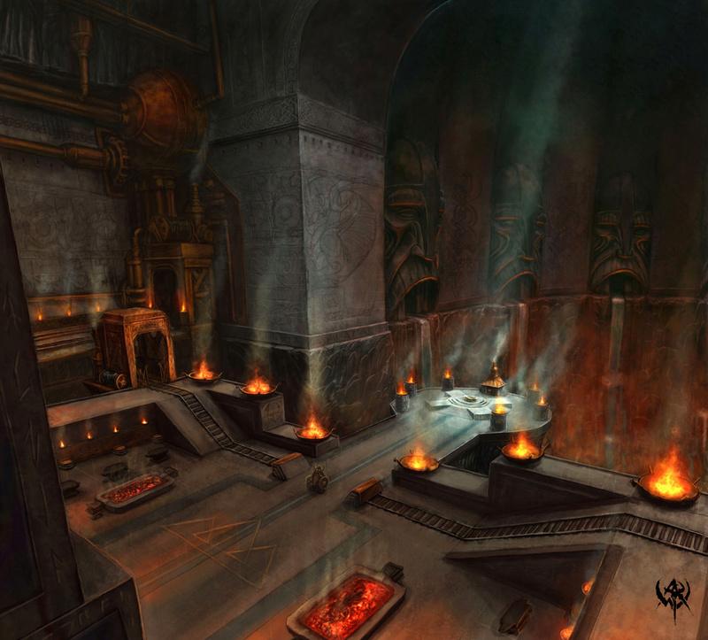 O Templo de Moradim, em Gauntlgrym!! Mine-410