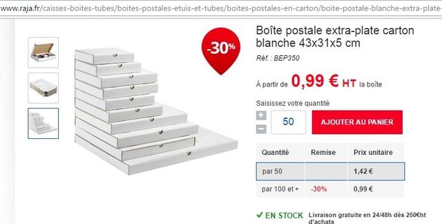 Boîtes pour stocker les PCB Boites11