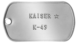 Kaiser - Vieraan vallan agentti Dogtag10