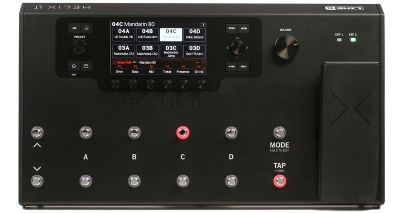 Nouvelle Version d'HELIX en version Lite plus légère qui se nomme LINE 6 HELIX LT Helix_10