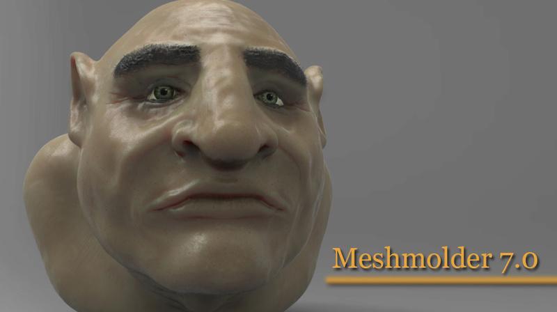 Released MeshMolder Beta 6.0 !! Meshmo10