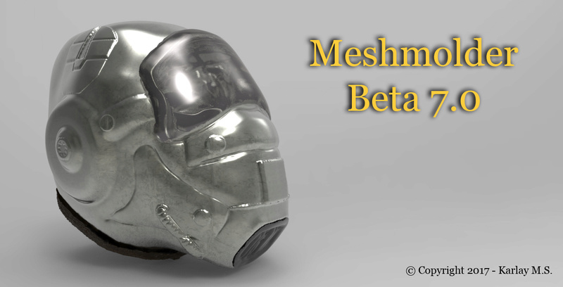 Released MeshMolder Beta 6.0 !! Splash10
