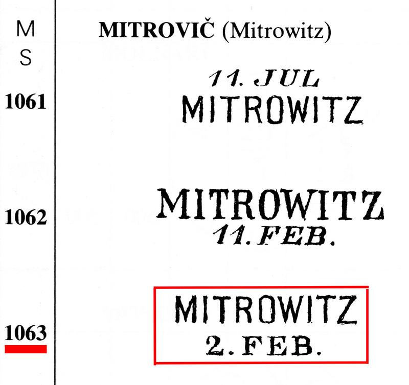 1867er bei Müller nicht bewertet oder gelistet Mitrov10