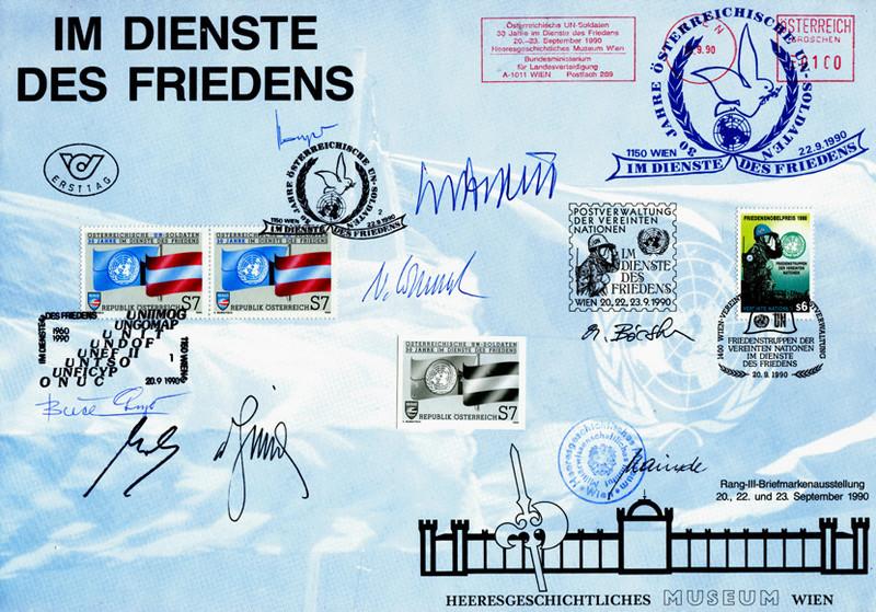 30 Jahre Österreichische UN-Soldaten im Dienste des Friedens Un_30_12