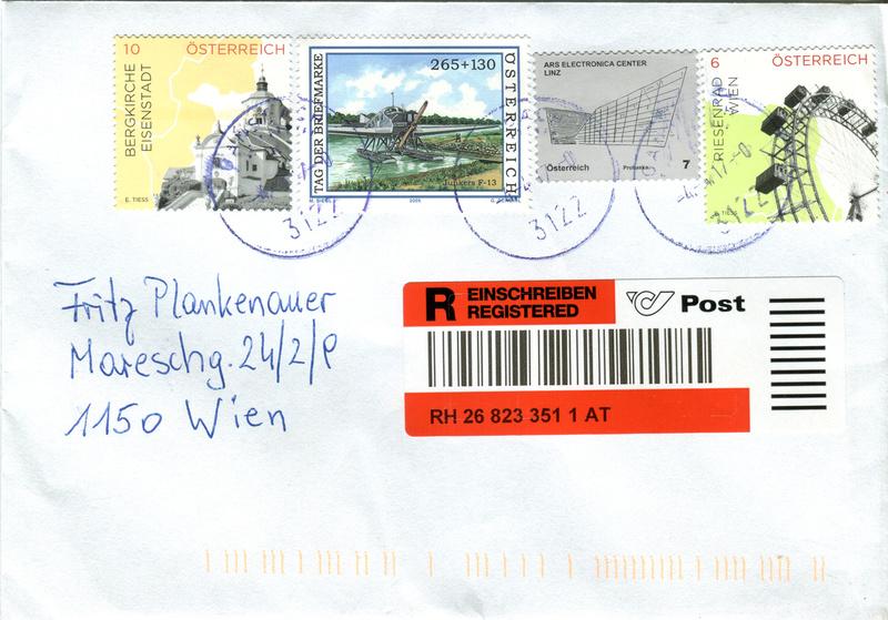 Sammlung Bedarfsbriefe Österreich ab 1945 - Seite 8 Xx44810