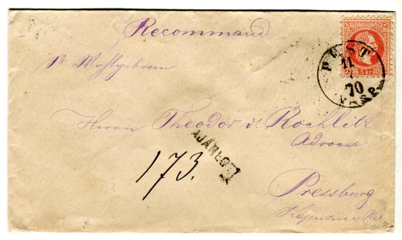Freimarken-Ausgabe 1867 : Kopfbildnis Kaiser Franz Joseph I - Seite 17 Z00211