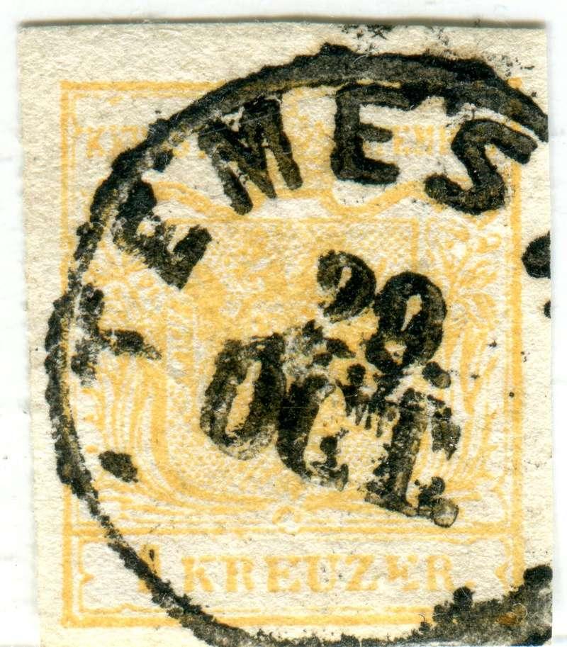 Die erste Österreichische Ausgabe 1850 - Seite 12 Z00310