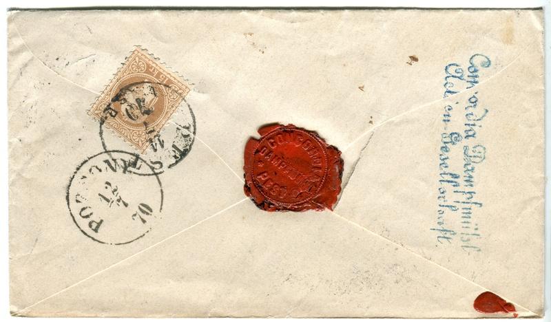 Freimarken-Ausgabe 1867 : Kopfbildnis Kaiser Franz Joseph I - Seite 17 Z00311