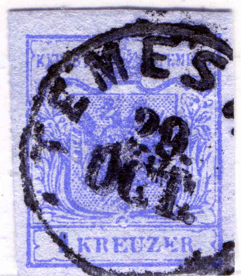 Die erste Österreichische Ausgabe 1850 - Seite 12 Z003x10