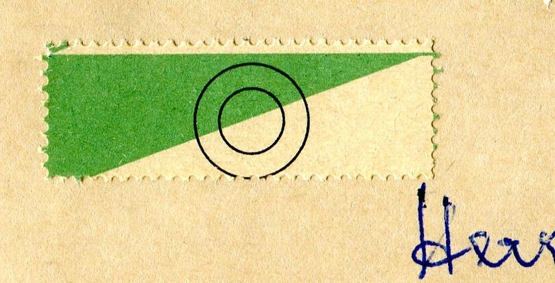 Sammlergerecht stempeln - Aufkleber Z03710