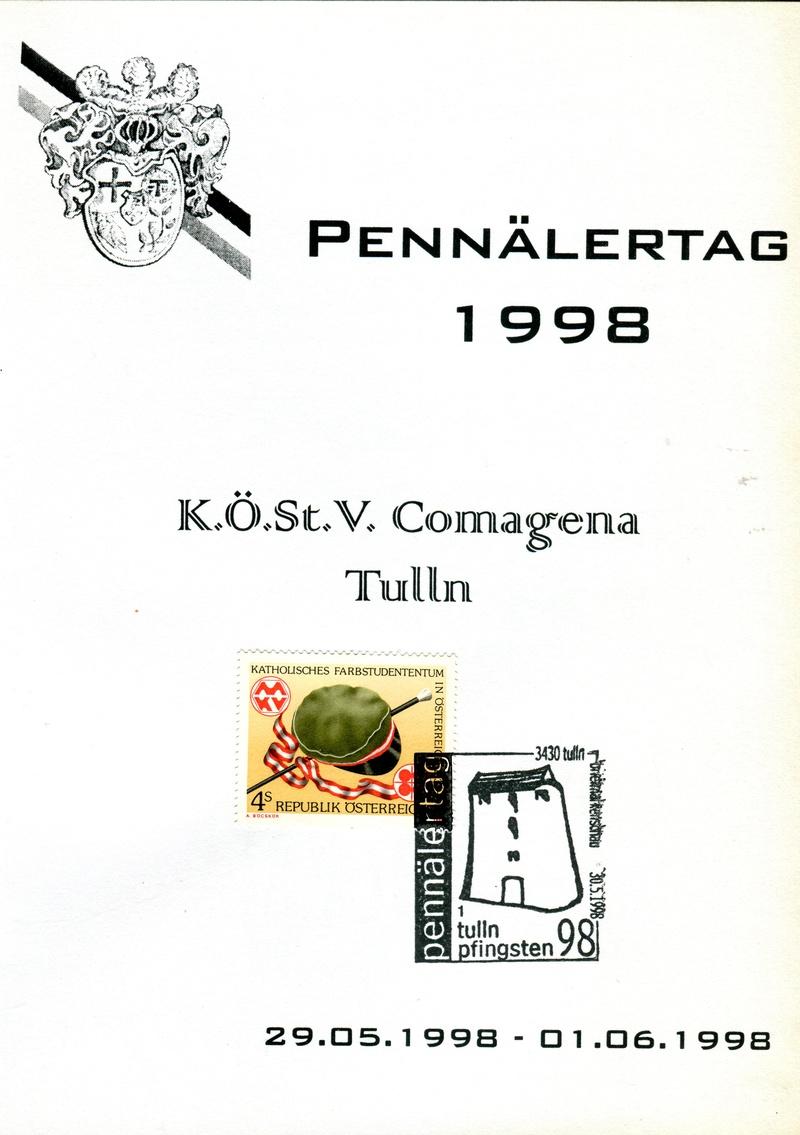 3430 Tulln - Briefmarkenschau 1998 Z04310