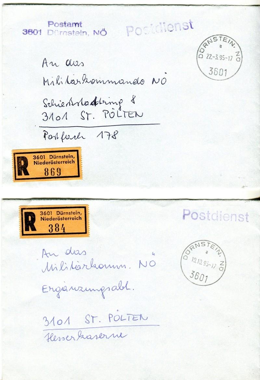 Postdienststempel Z05010